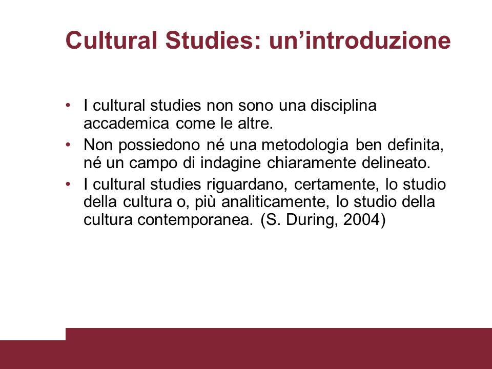 Cultural Studies: un'introduzione