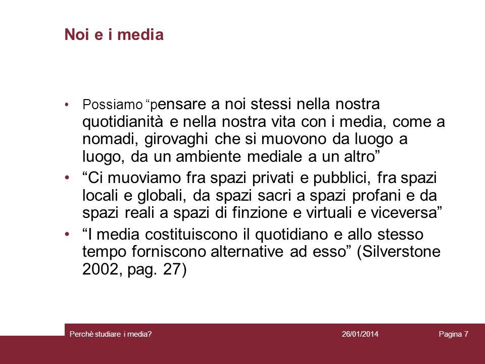 Noi e i media
