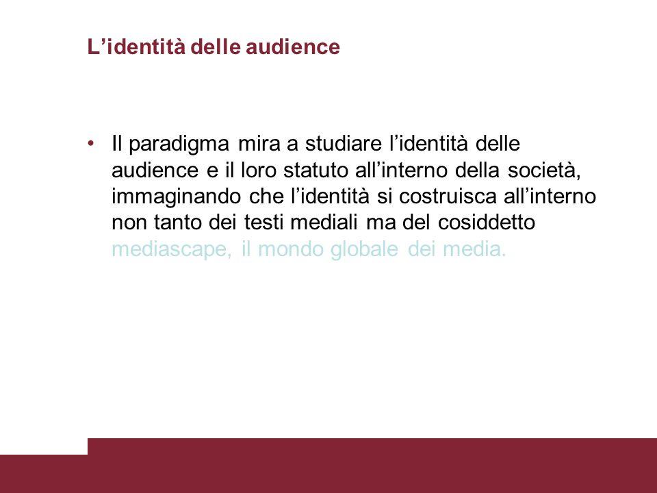 L'identità delle audience