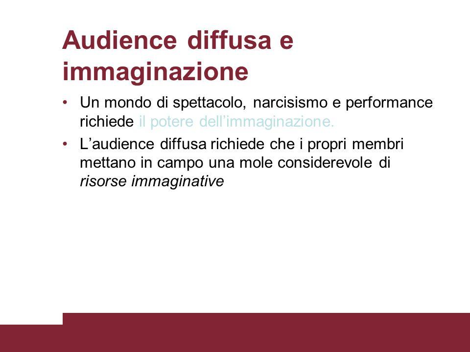 Audience diffusa e immaginazione