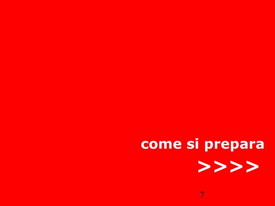 come si prepara >>>>