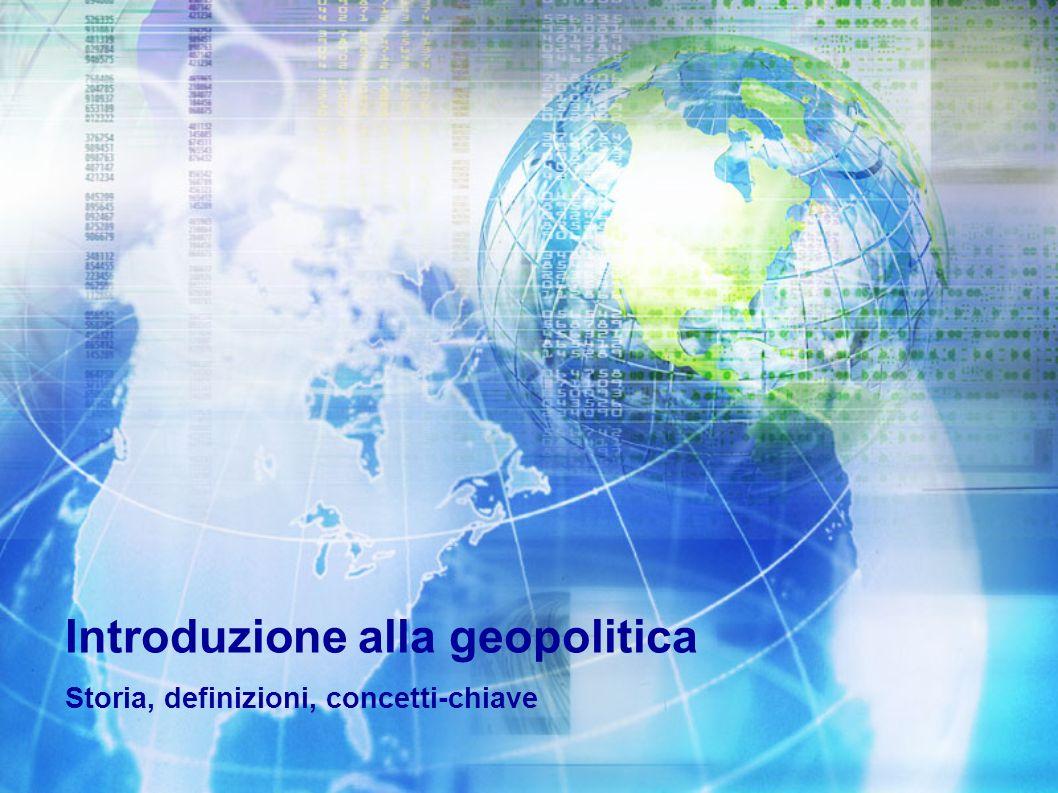 Introduzione alla geopolitica