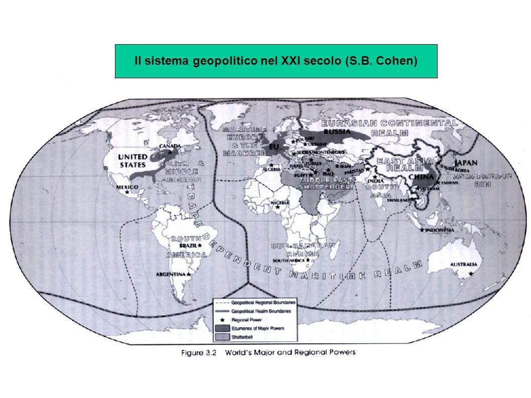 Il sistema geopolitico nel XXI secolo (S.B. Cohen)