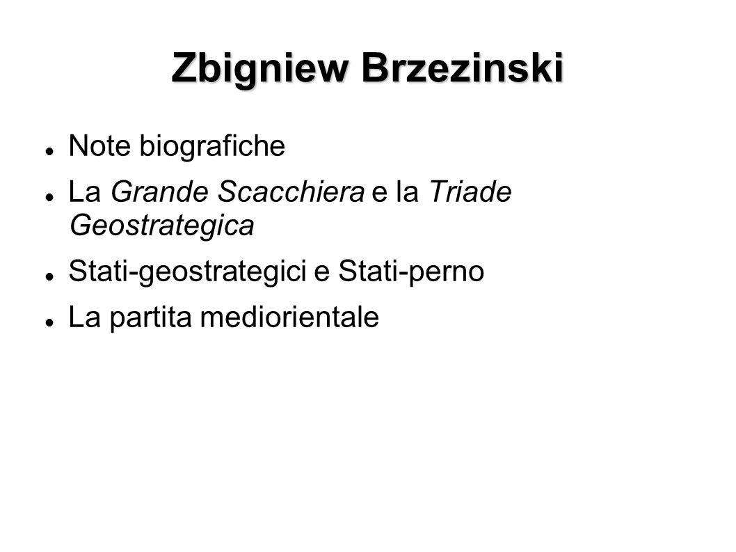 Zbigniew Brzezinski Note biografiche