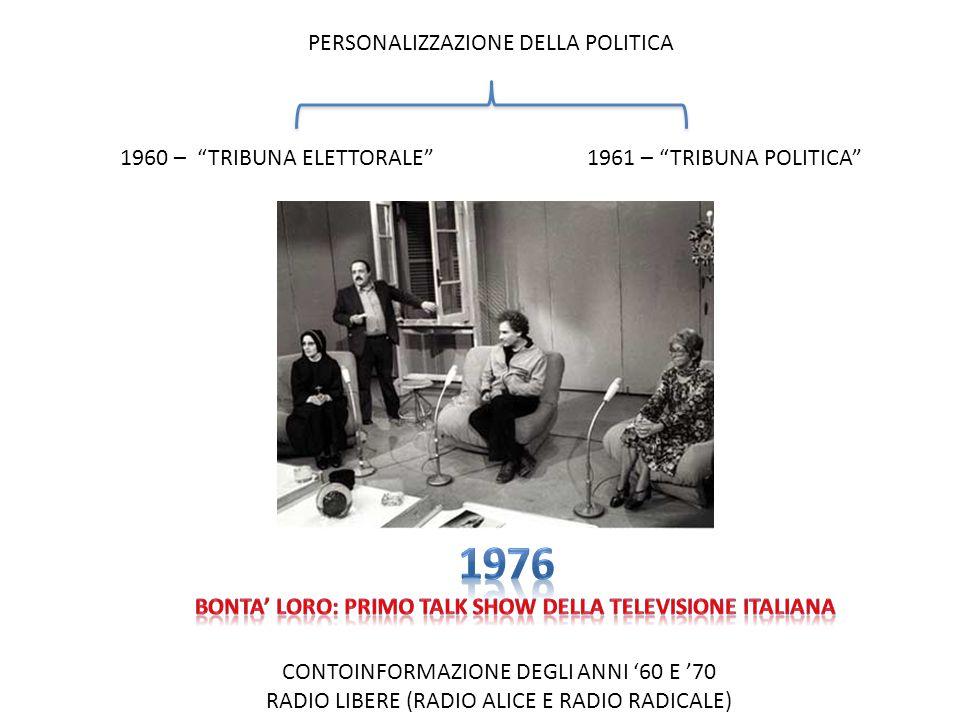 BONTA' LORO: PRIMO TALK SHOW DELLA TELEVISIONE ITALIANA