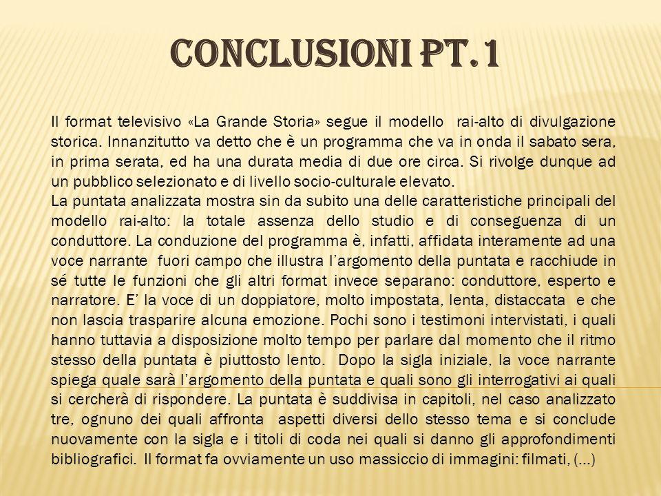 CONCLUSIONI pt.1