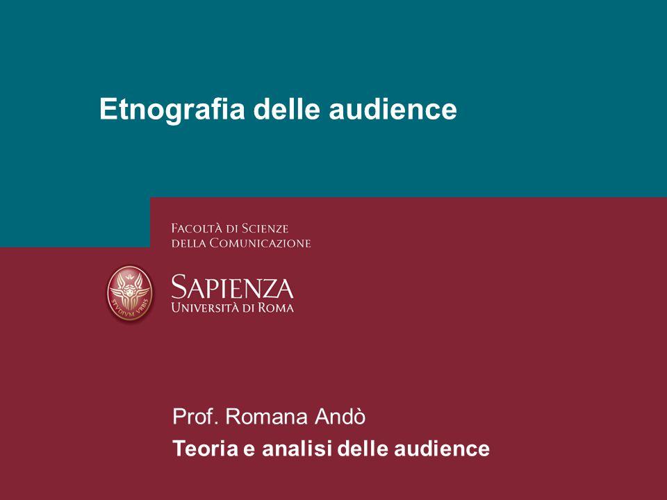 Etnografia delle audience