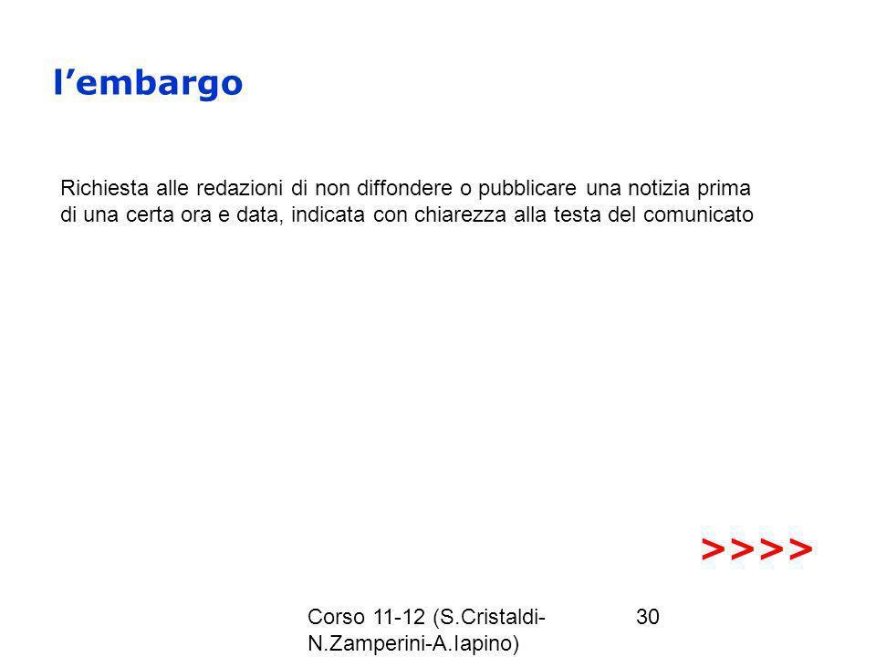 l'embargo >>>>