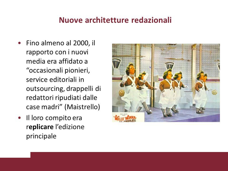 Nuove architetture redazionali