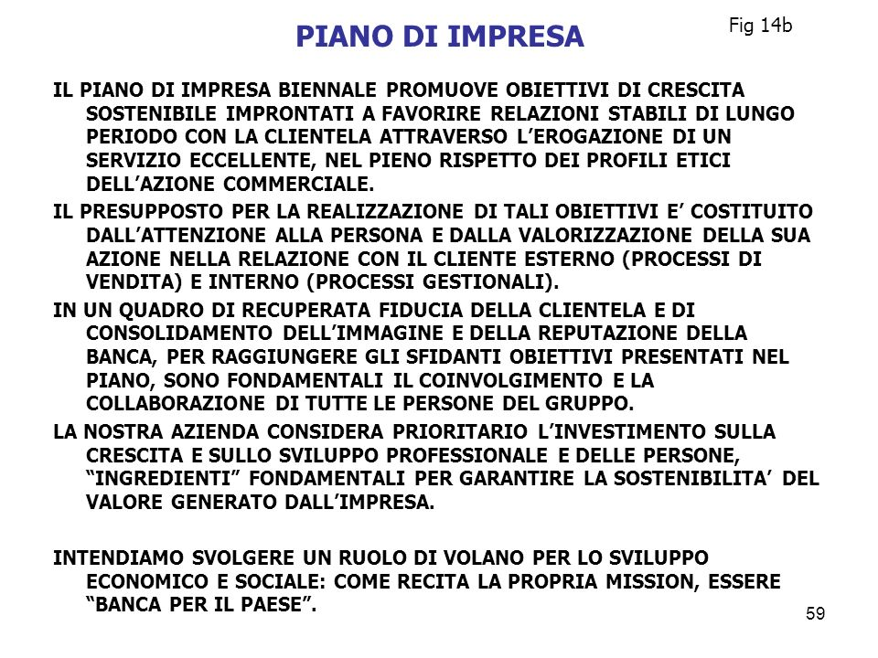 Fig 14bPIANO DI IMPRESA.