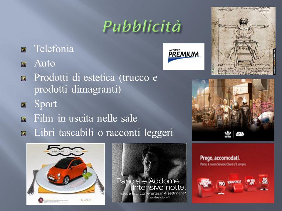 Pubblicità Telefonia Auto