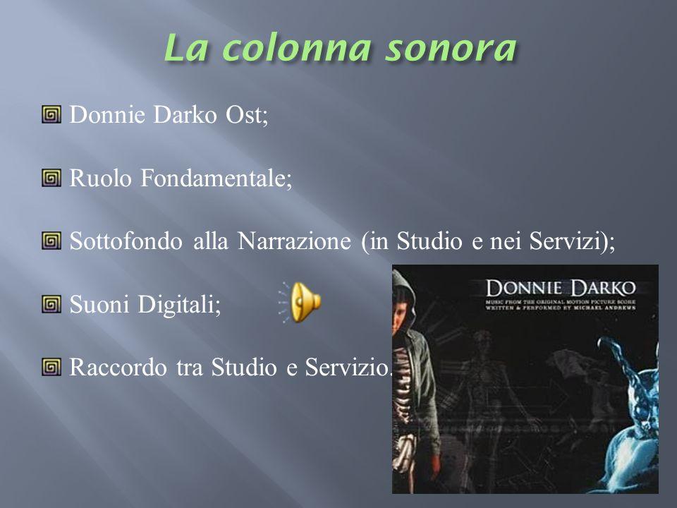 La colonna sonora Donnie Darko Ost; Ruolo Fondamentale;