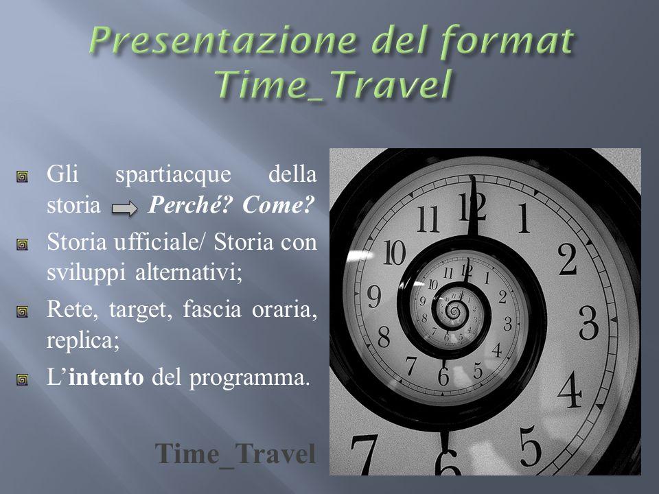 Presentazione del format Time_Travel