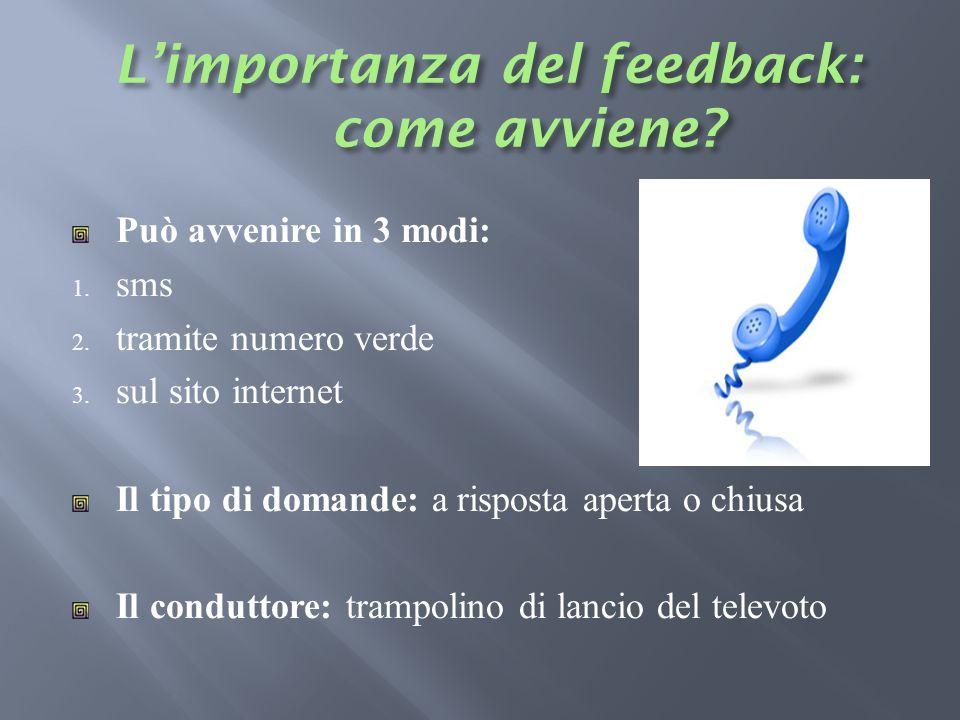 L'importanza del feedback: come avviene