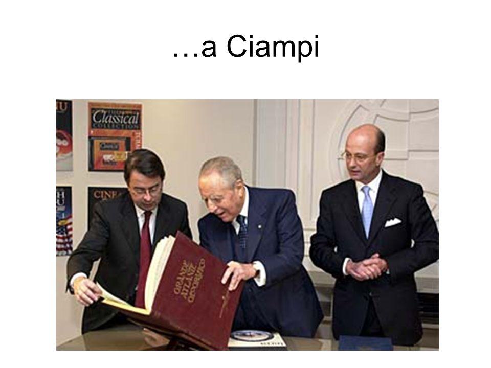 …a Ciampi