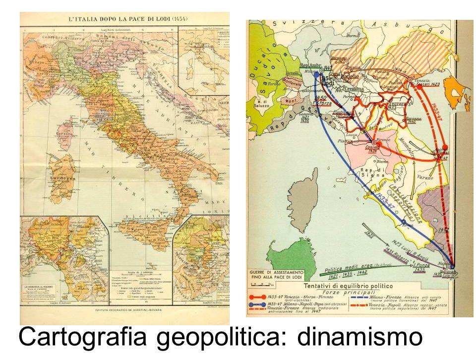 Cartografia geopolitica: dinamismo