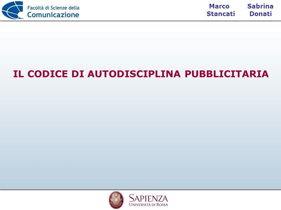 IL CODICE DI AUTODISCIPLINA PUBBLICITARIA