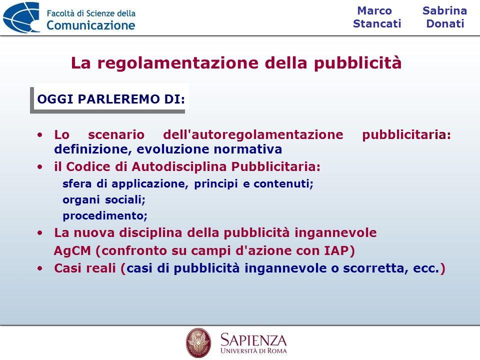 La regolamentazione della pubblicità