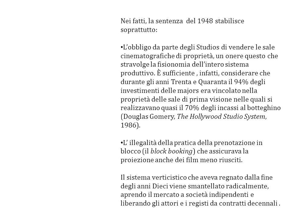 Nei fatti, la sentenza del 1948 stabilisce soprattutto: