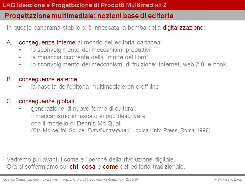 Progettazione multimediale: nozioni base di editoria
