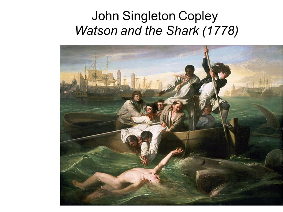 John Singleton Copley Watson and the Shark (1778)
