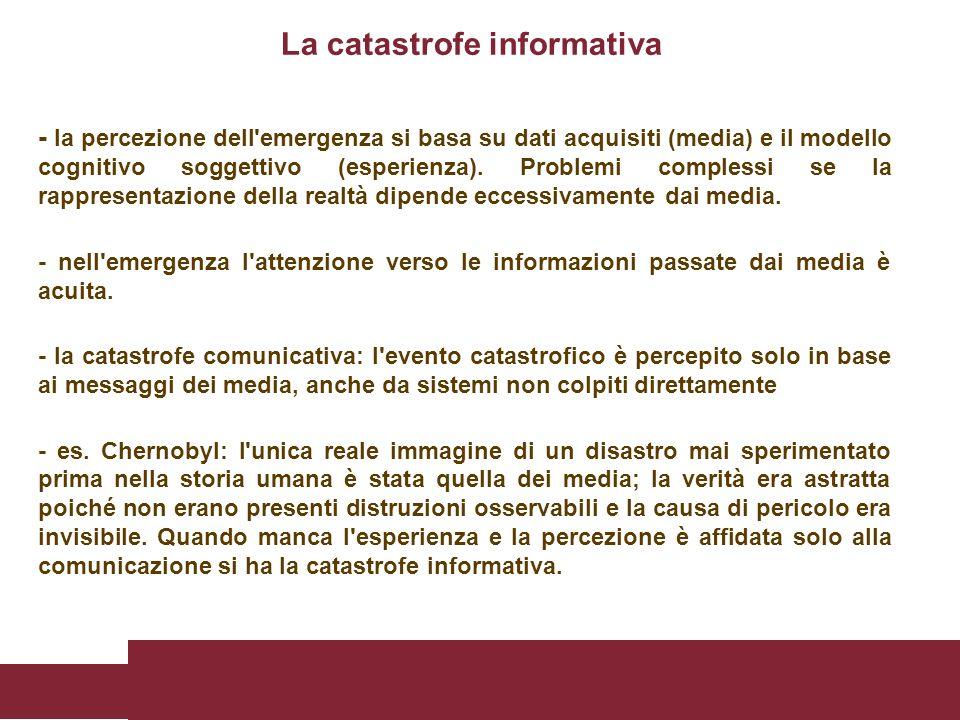 La catastrofe informativa