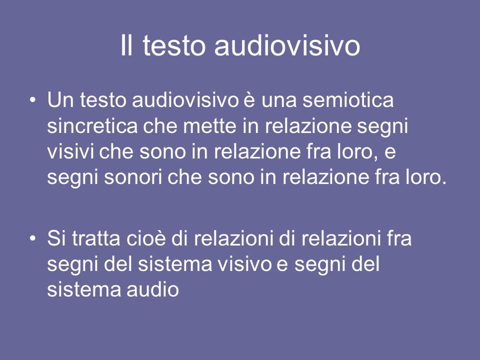 Il testo audiovisivo