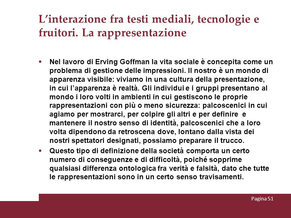 L'interazione fra testi mediali, tecnologie e fruitori