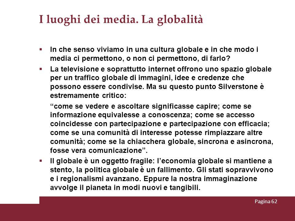 I luoghi dei media. La globalità