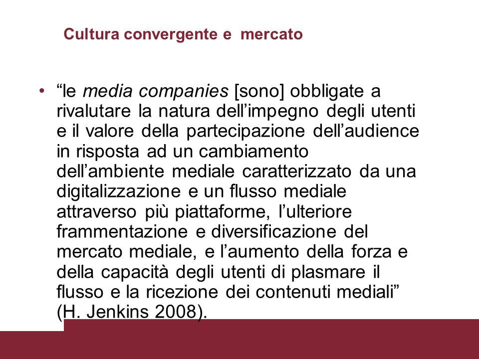Cultura convergente e mercato
