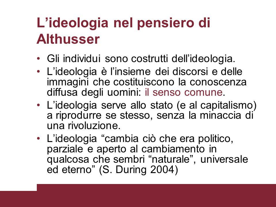 L'ideologia nel pensiero di Althusser
