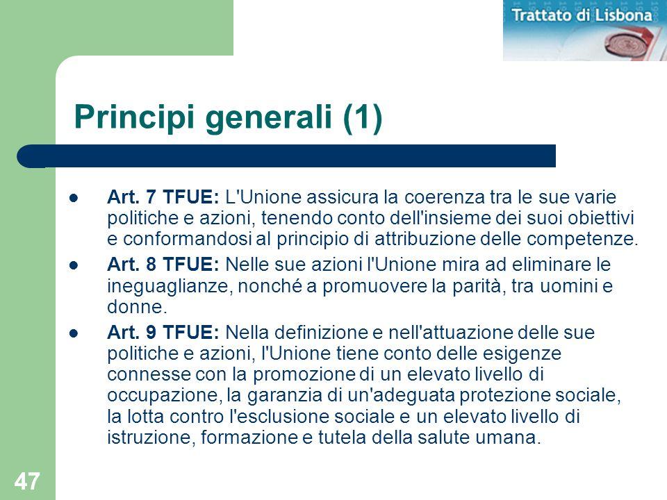 Principi generali (1)