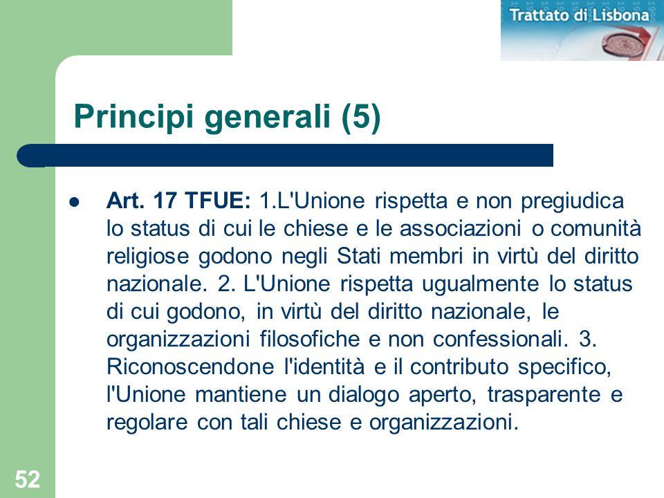 Principi generali (5)