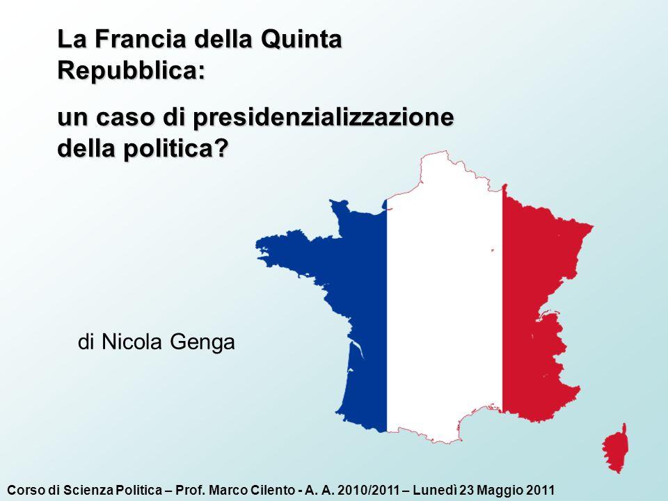 La Francia della Quinta Repubblica: