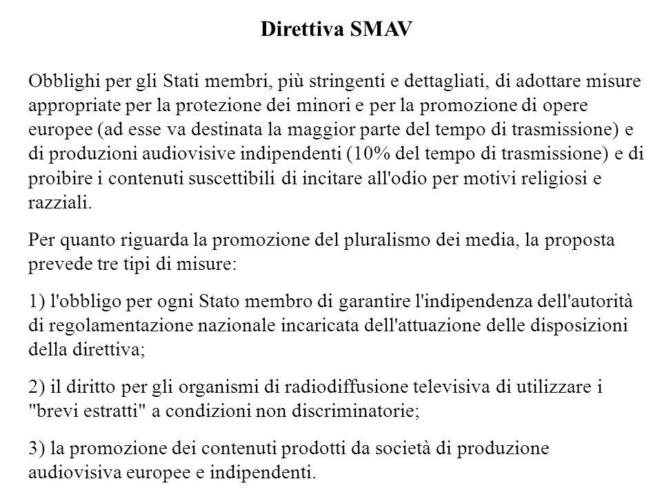 Direttiva SMAV