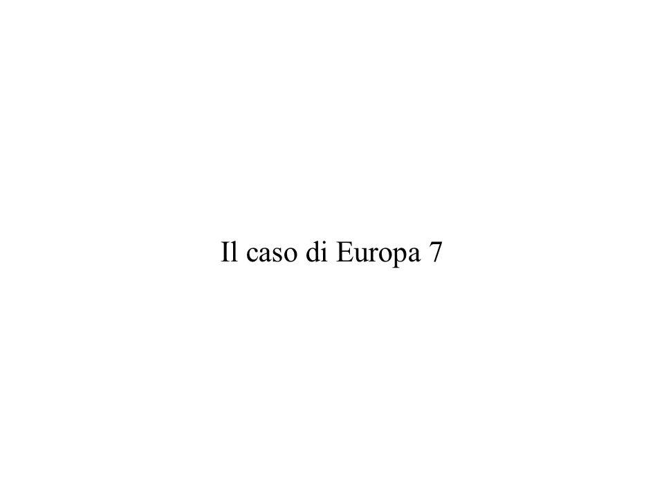 Il caso di Europa 7
