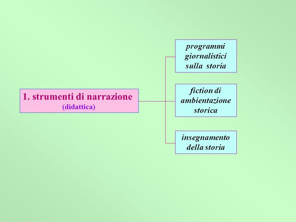 1. strumenti di narrazione