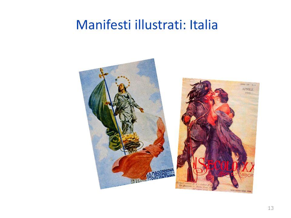 Manifesti illustrati: Italia