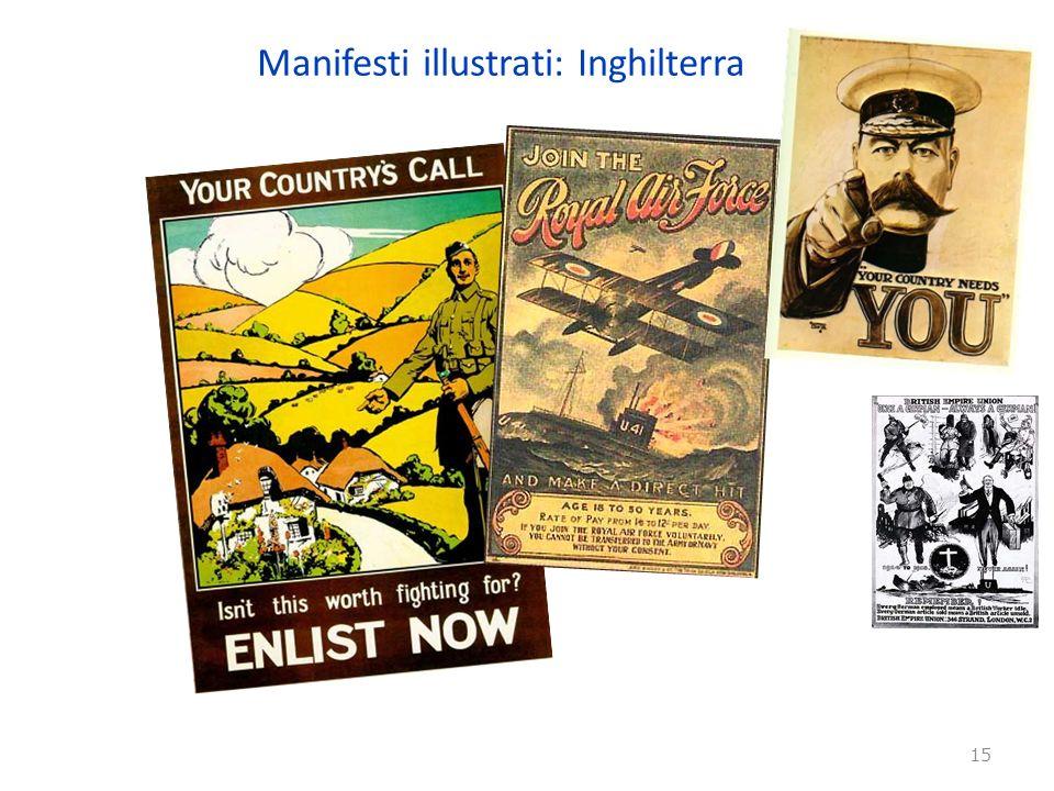 Manifesti illustrati: Inghilterra