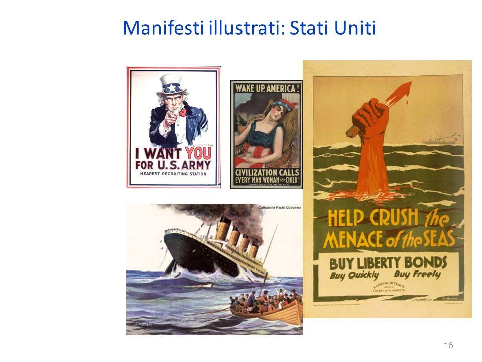 Manifesti illustrati: Stati Uniti