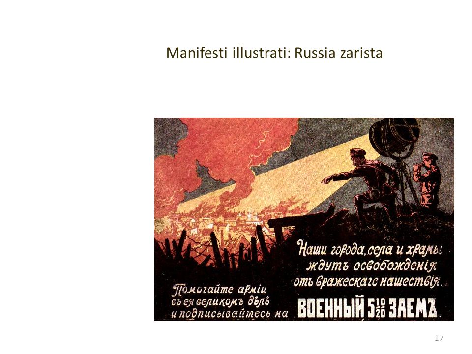 Manifesti illustrati: Russia zarista