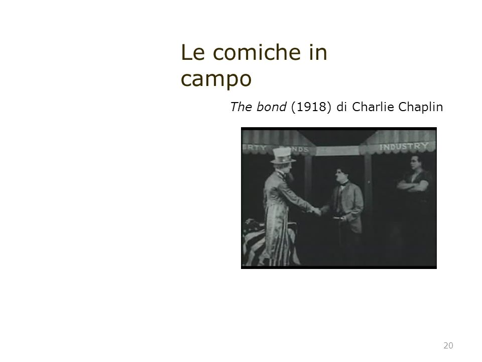 Le comiche in campo The bond (1918) di Charlie Chaplin