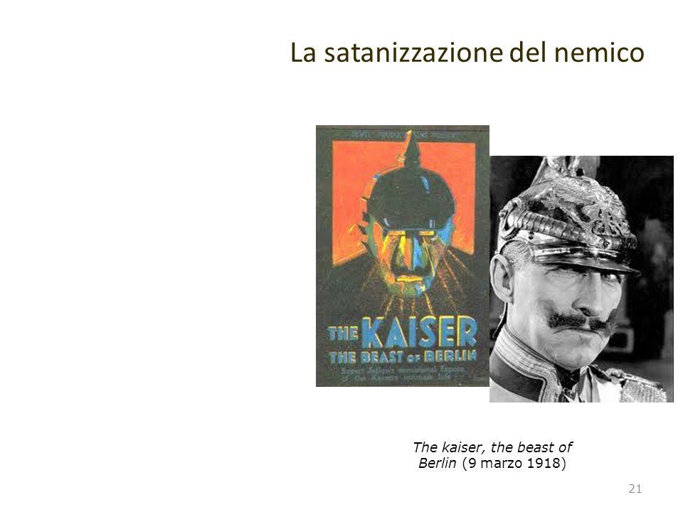 La satanizzazione del nemico