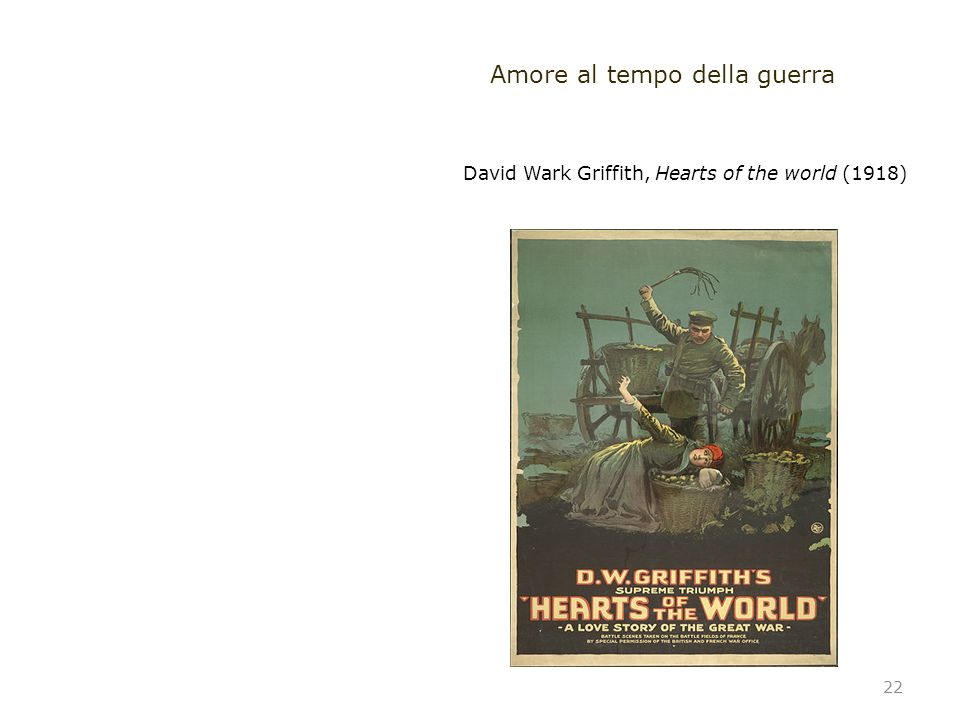 David Wark Griffith, Hearts of the world (1918)