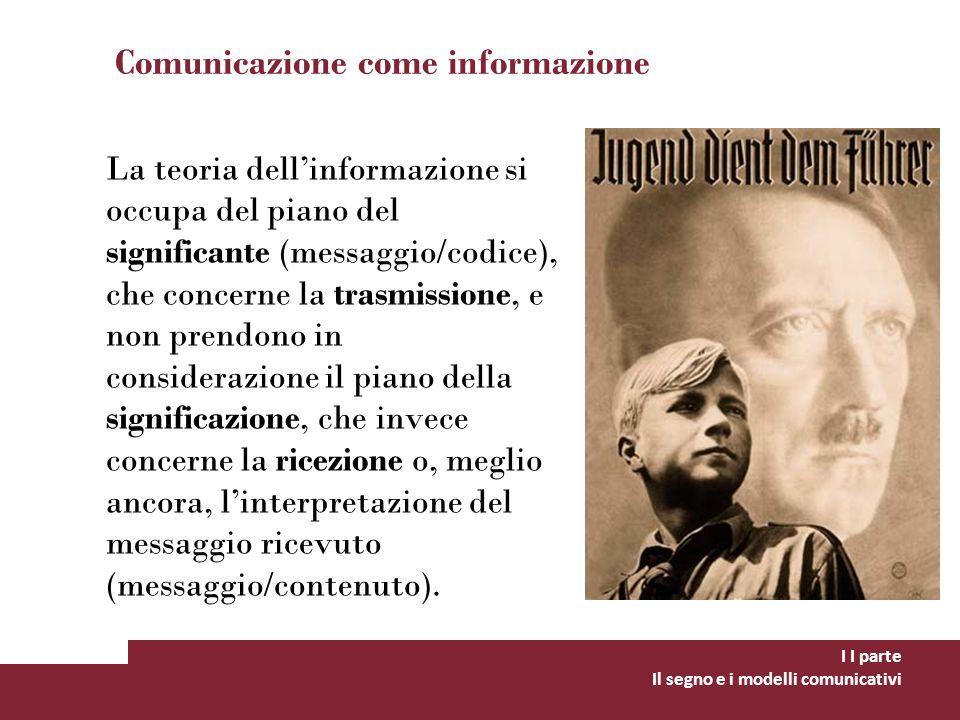 Comunicazione come informazione
