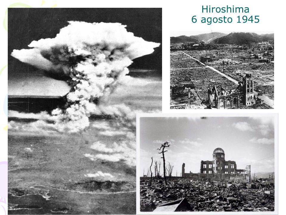 Hiroshima 6 agosto 1945