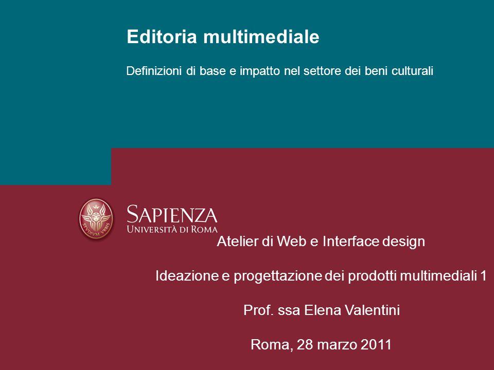 Editoria multimediale