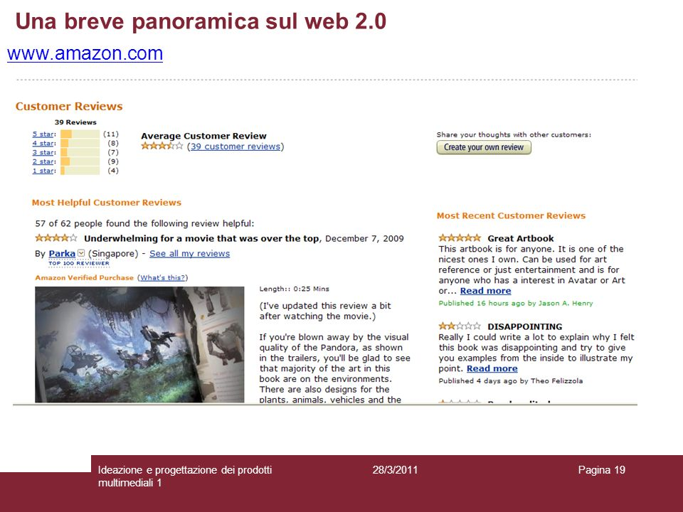 Una breve panoramica sul web 2.0