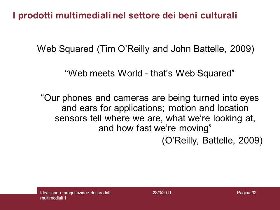 I prodotti multimediali nel settore dei beni culturali