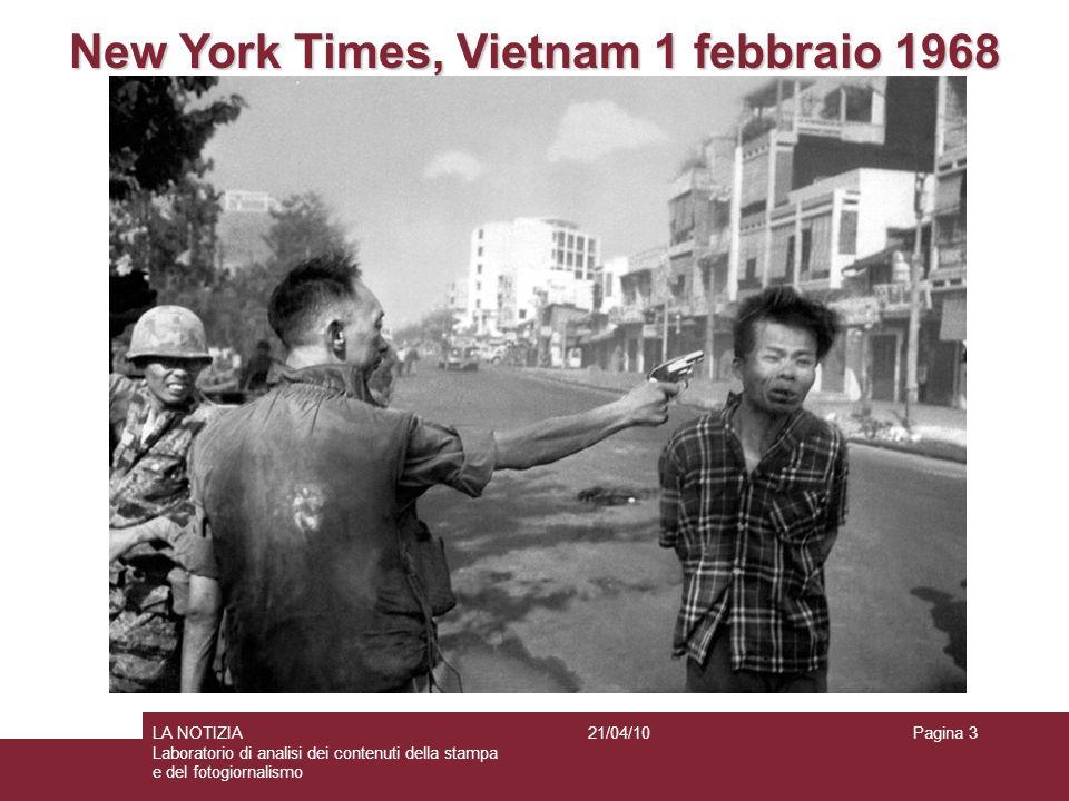 New York Times, Vietnam 1 febbraio 1968